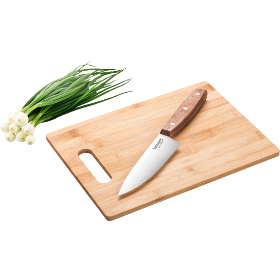 Lamart - Lamart BAMBOO Cutting Board with Chef's Knife