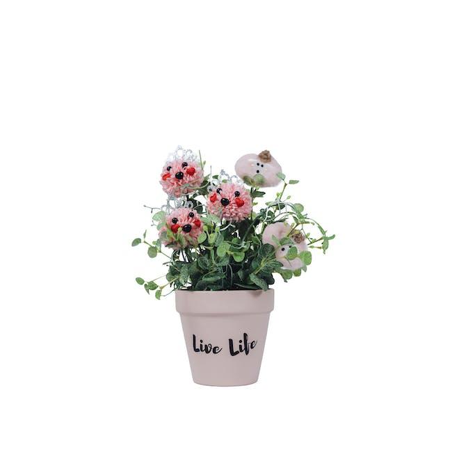 Soap Flower Pot - Mary & Lamb - 0
