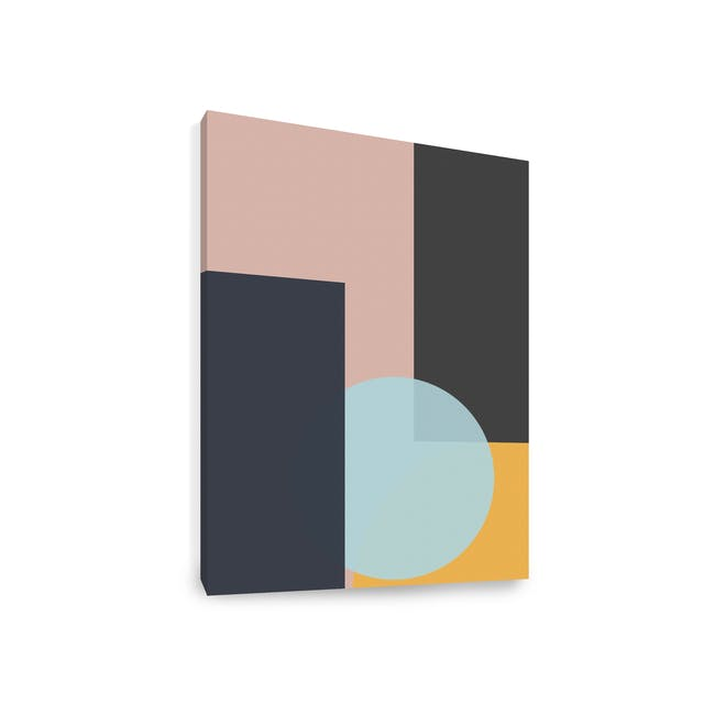 Abstract Art Print on Stretched Canvas 50cm by 70cm - Penumbra - 1