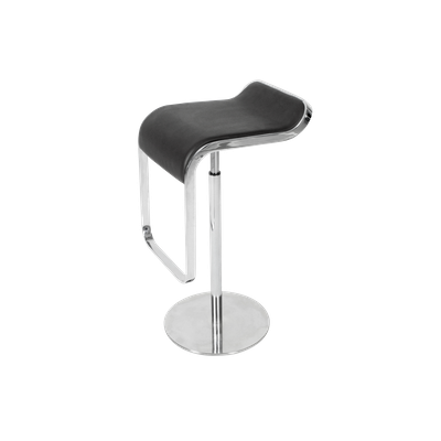Lem Piston Bar Stool - Italian Leather - Image 1