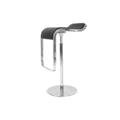 Lem Piston Bar Stool - Italian Leather - Image 2