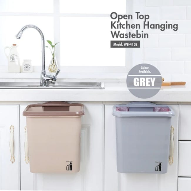 HOUZE Open Top Kitchen Hanging Wastebin - 1