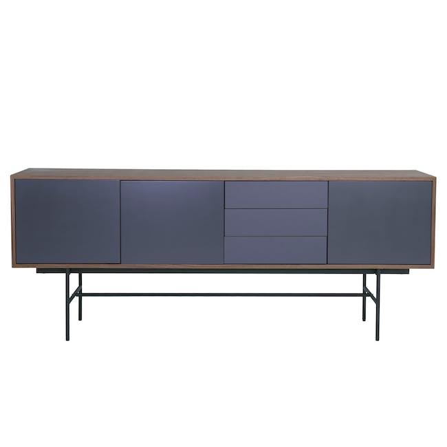 Bacchus Sideboard 2m - Walnut, Grey - 4