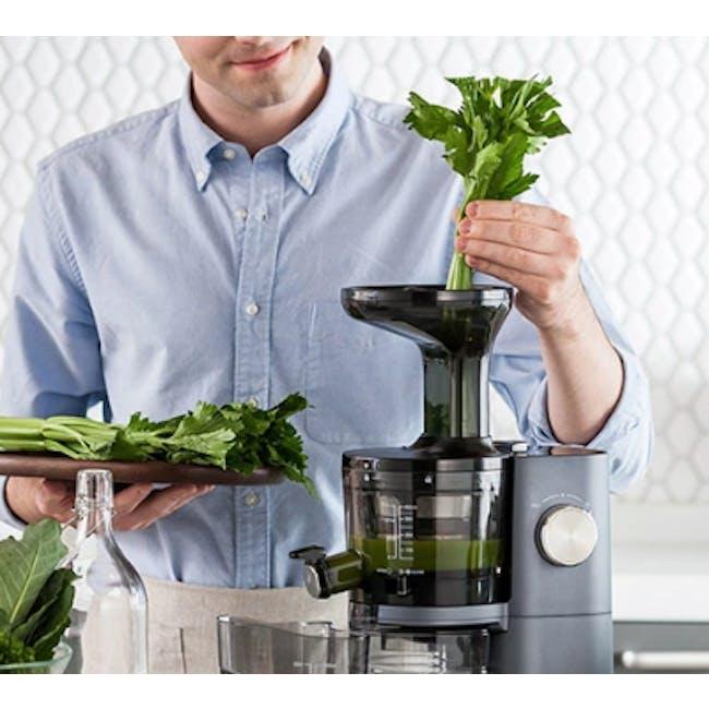 Hurom HI-3400 Cold Pressed Slow Fruit Juicer Premium Series - Rose Gold - 2