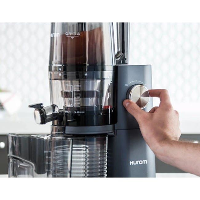 Hurom HI-3400 Cold Pressed Slow Fruit Juicer Premium Series - Rose Gold - 3