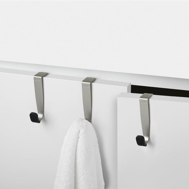 Schnook Cabinet Hooks - Nickel (Set of 3) - 2