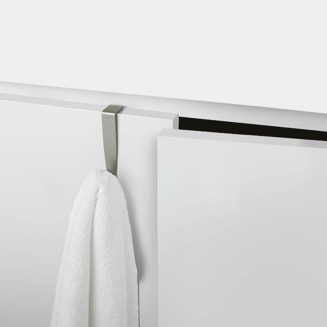 Schnook Cabinet Hooks - Nickel (Set of 3) - 1