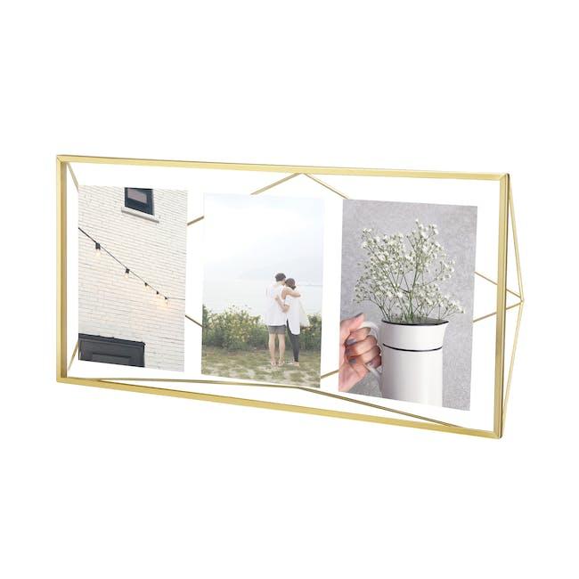 Prisma Multi Photo Display - Brass - 0