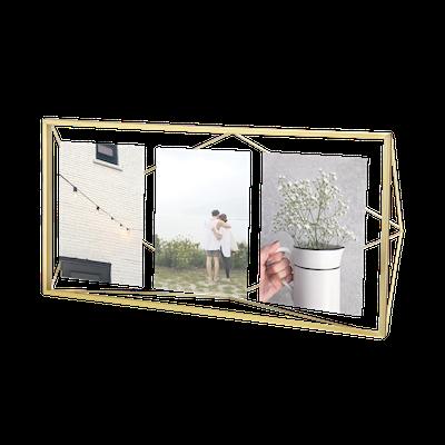 Prisma Multi Photo Display - Brass - Image 1