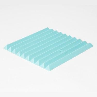 Flip Folding Trivet - Turquoise(Free Placemats!) - Image 1