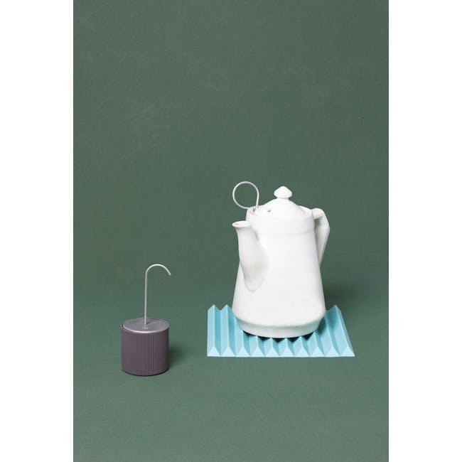 OMMO Flip Folding Trivet - Turquoise - 3
