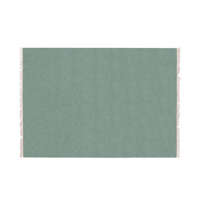 Stringa Flatwoven Rug 2.4m x 1.7m - Pistachio - 0