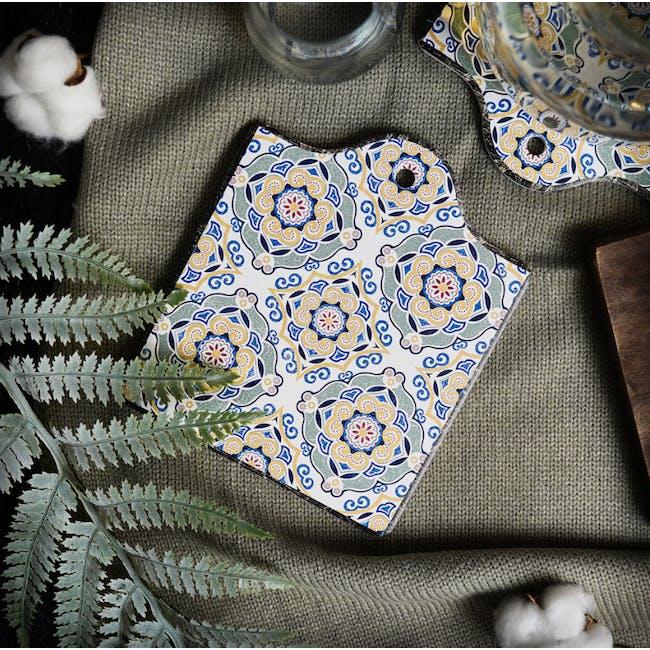 Peranakan Ceramic Pot Coaster - Gayle - 1
