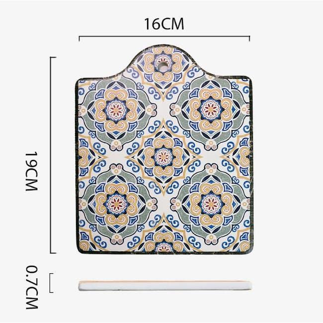Peranakan Ceramic Pot Coaster - Gayle - 3