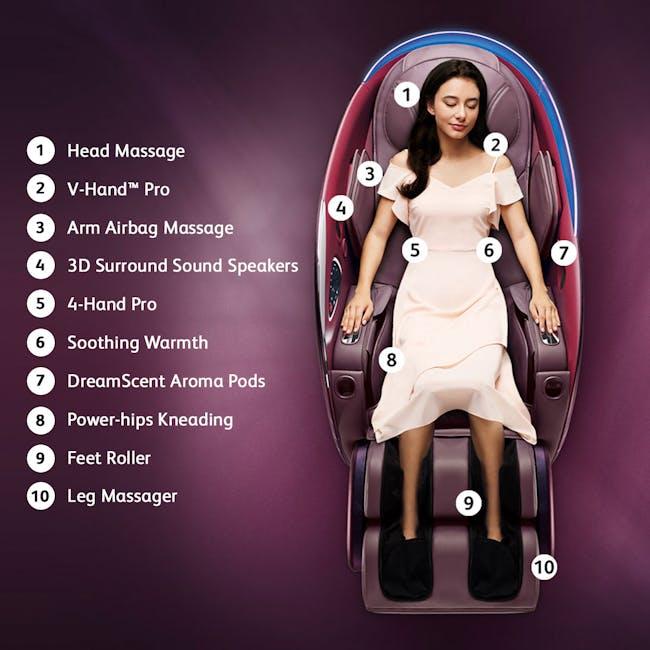 OSIM uDream Well-Being Chair - Bronze - 11