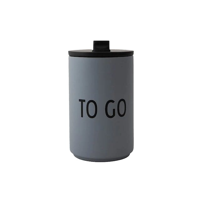 Insulated Cup - Grey (To Go) - 0