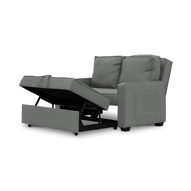 Arturo 2 Seater Sofa Bed - Pigeon Grey - 6