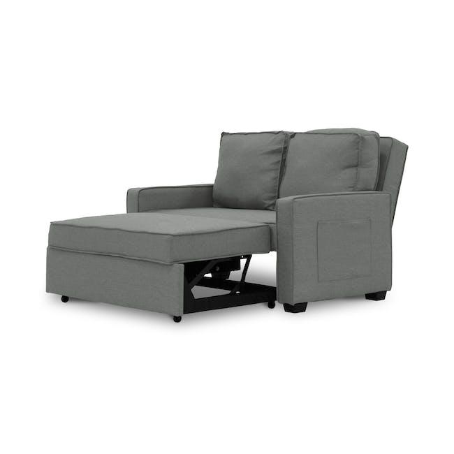 Arturo 2 Seater Sofa Bed - Pigeon Grey - 7