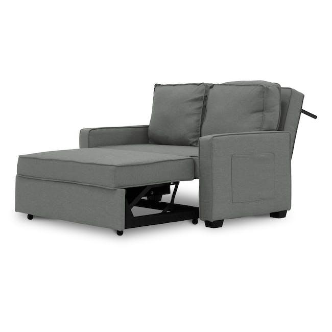 Arturo 2 Seater Sofa Bed - Pigeon Grey - 8