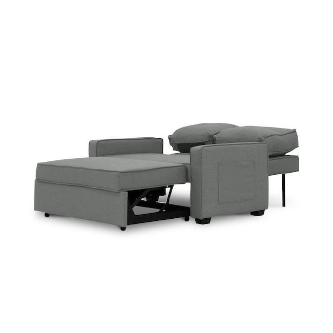 Arturo 2 Seater Sofa Bed - Pigeon Grey - 10