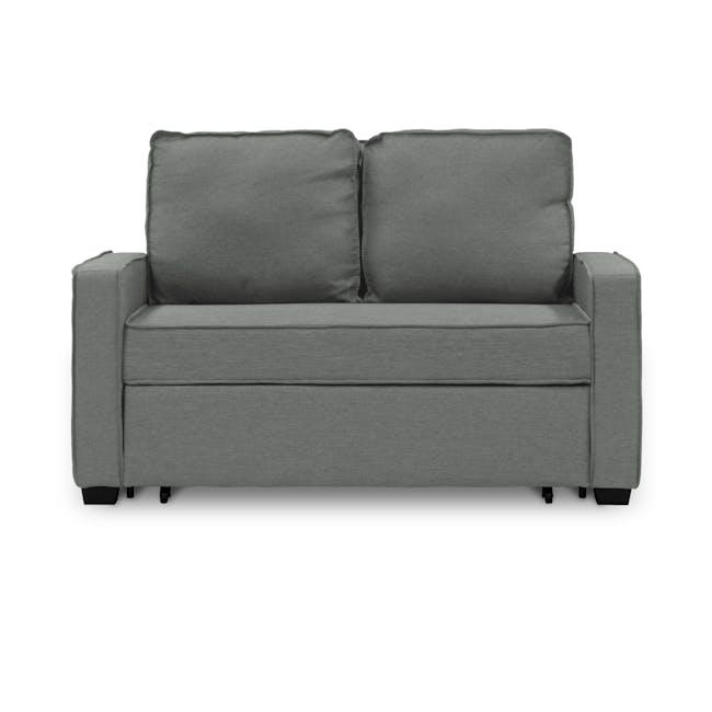 Arturo 2 Seater Sofa Bed - Pigeon Grey - 0