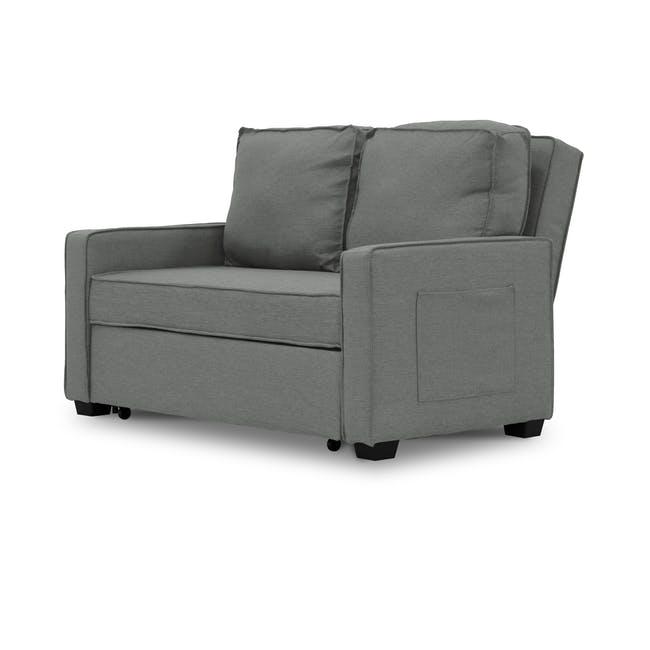 Arturo 2 Seater Sofa Bed - Pigeon Grey - 2