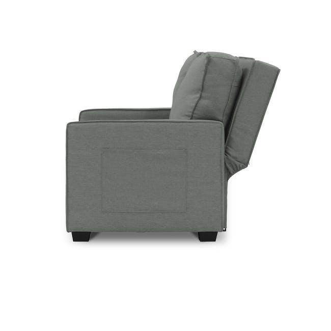 Arturo 2 Seater Sofa Bed - Pigeon Grey - 3
