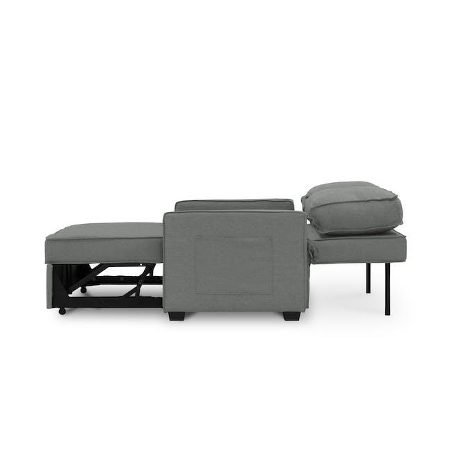 Arturo 2 Seater Sofa Bed - Pigeon Grey - 11