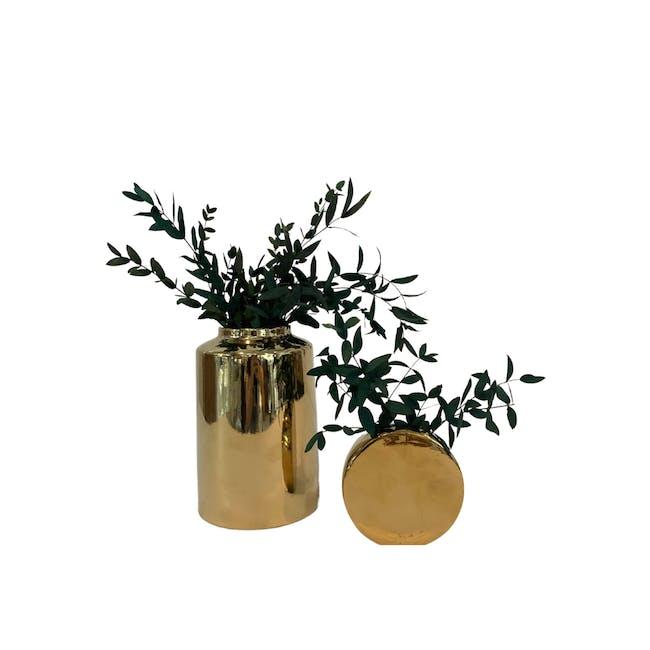 Olive Gold Vases - Vases Set - 0