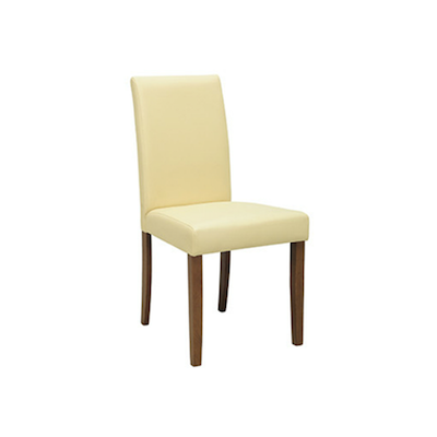Lenore Dining Chair - Cocoa, Cream - Image 1