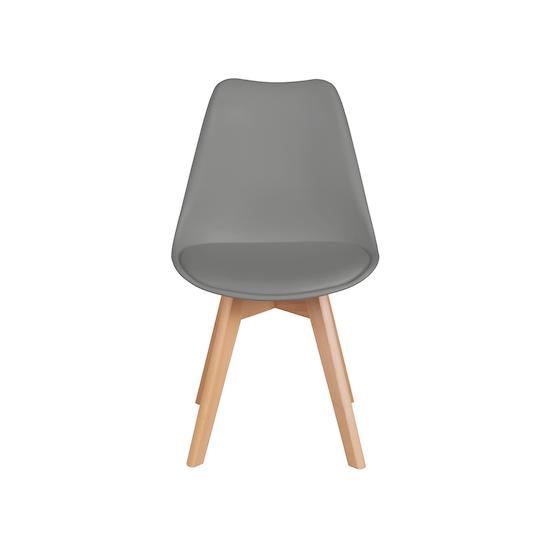 Preloved - (Display Piece) Linnett Chair - Natural, Grey