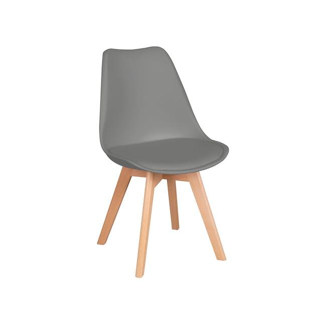 Linnett Chair - Natural, Grey - 4