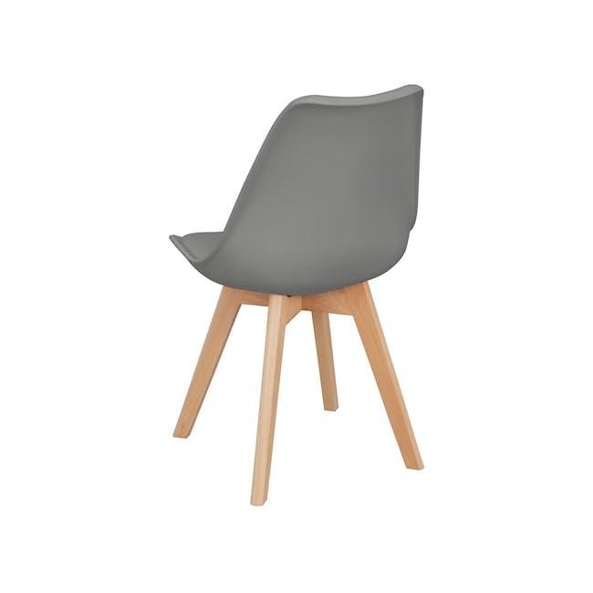 Linnett Chair - Natural, Grey - 1