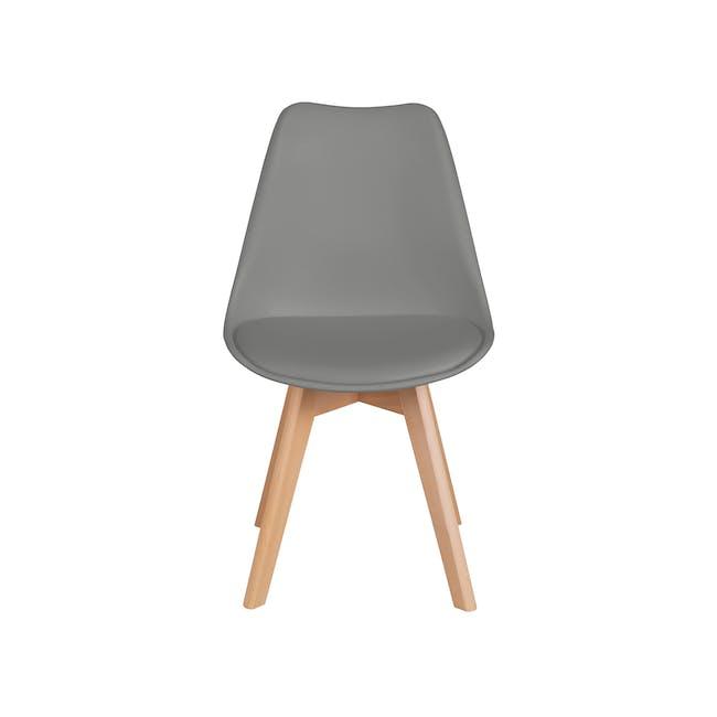 Linnett Chair - Natural, Grey - 3