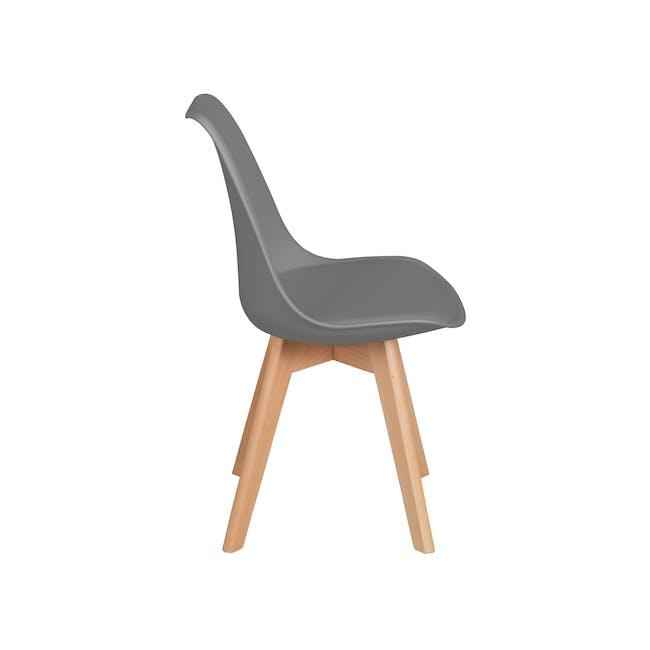 Linnett Chair - Natural, Grey - 2