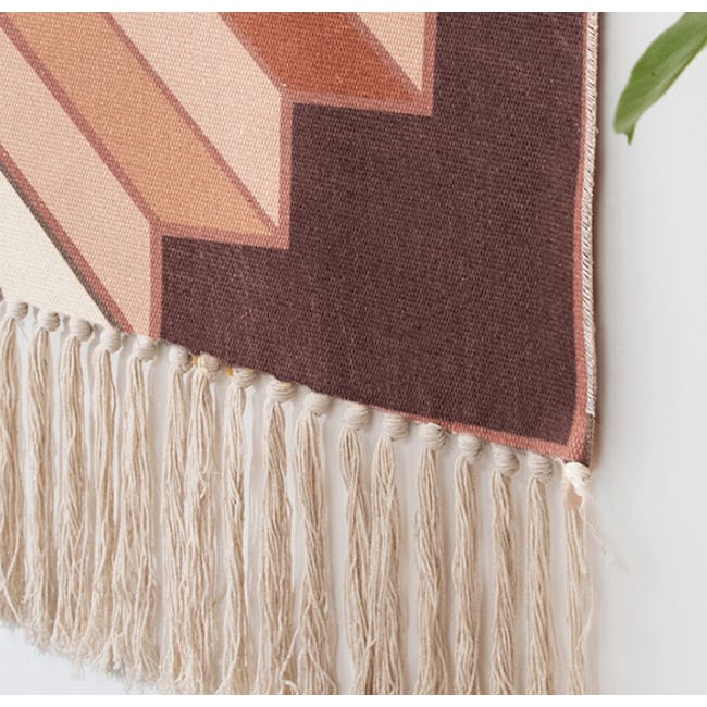 Nordic Tapestry with Tassle - 3 Steps Up - 5