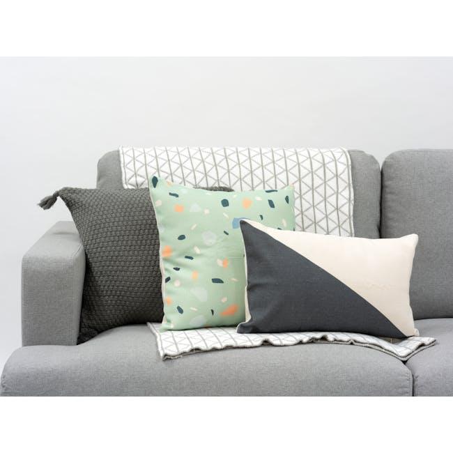 Thea Cushion Cover - Jade - 1