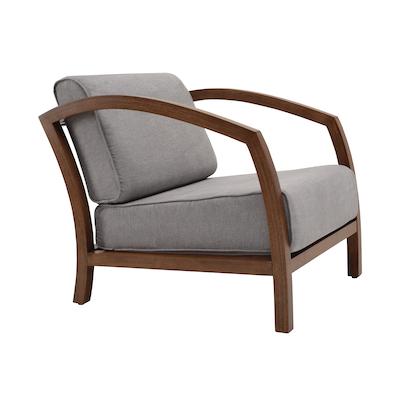 Velda Lounge Chair - Cocoa, Dolphin - Image 2