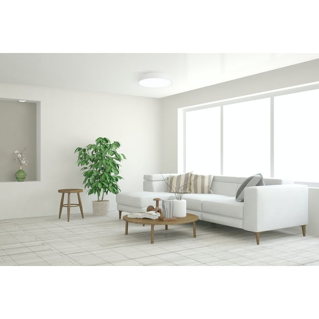Yeelight LED Smart Ceiling Light with Remote - Grey - 6