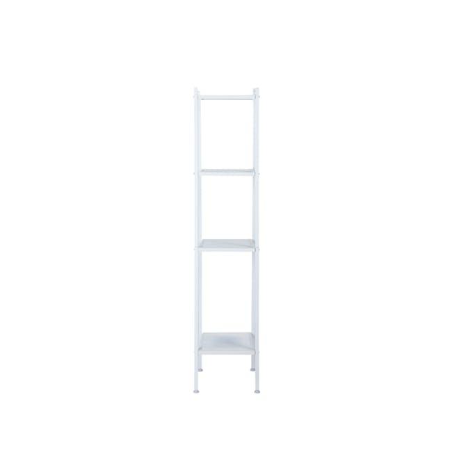 Kingston 4-Tier Shelf 40cm - White - 0