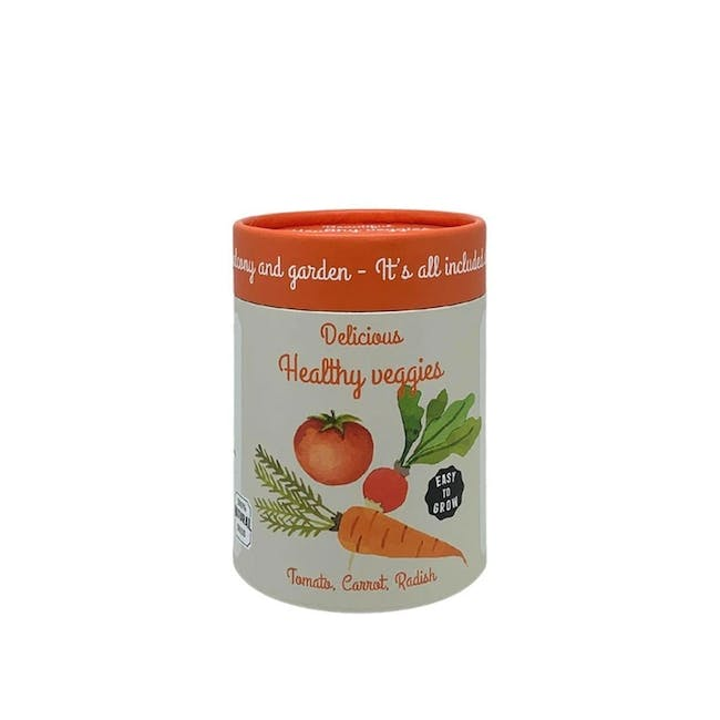 Canister Collection: Veggies (Raddish, Tomato, Carrot) - 0
