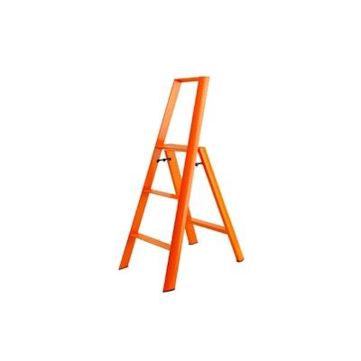 Hasegawa 3 Step Aluminium Ladder ‰- Orange - Image 1