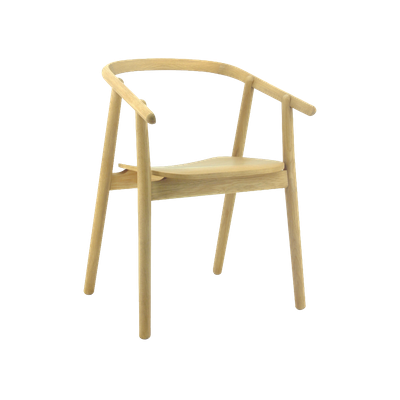 Glen Dining Chair - Oak - Image 1