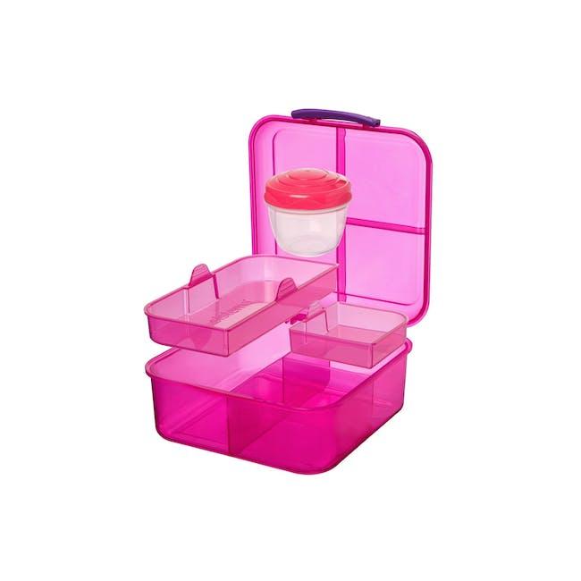 Sistema Bento Cube 1.25L - Pink - 1