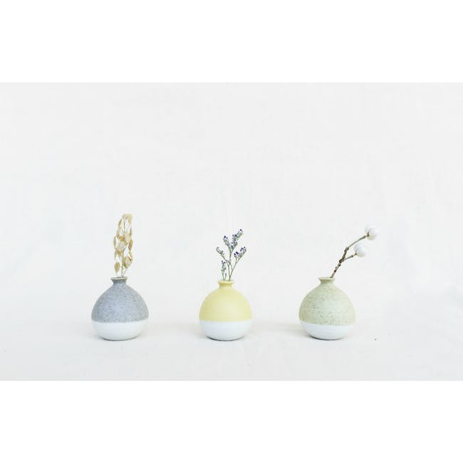 Mini Vase 5 cm - Pastel Green - 3