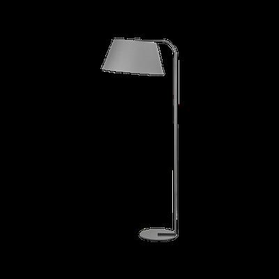 Allison Floor lamp - Grey - Image 1