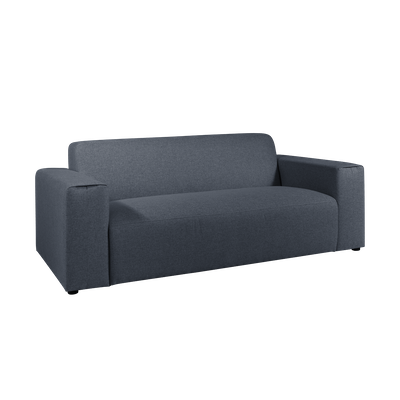 Adam 3 Seater Sofa - Midnight - Image 2