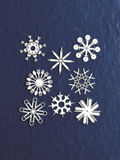 4 pc Tool Flakes Ornaments - Image 2