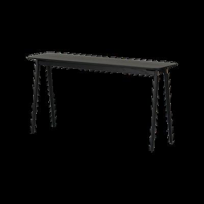 Fidel Console Table - Black Oak - Image 2