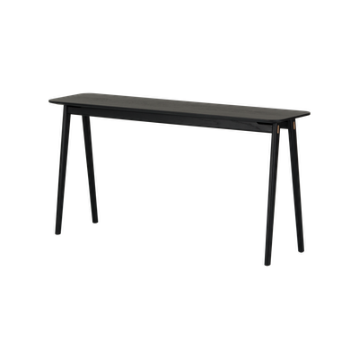 Fidel Console Table - Black Oak - Image 2
